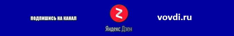 канал Дзен vovdi.ru
