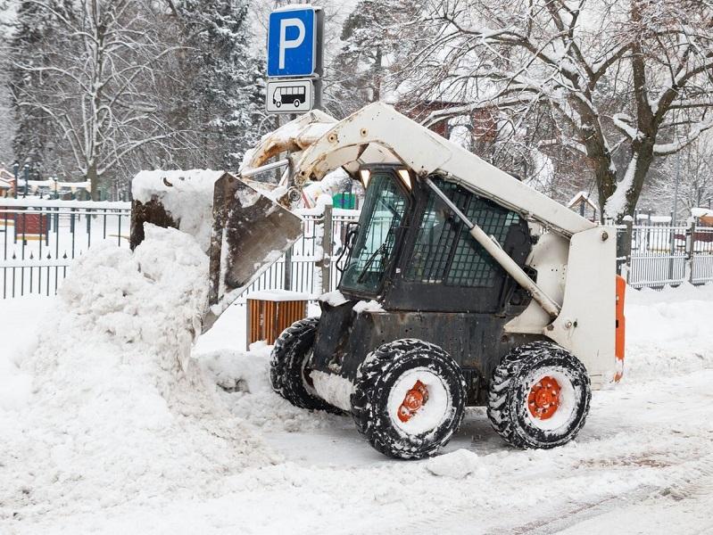 уборка снега bobcat