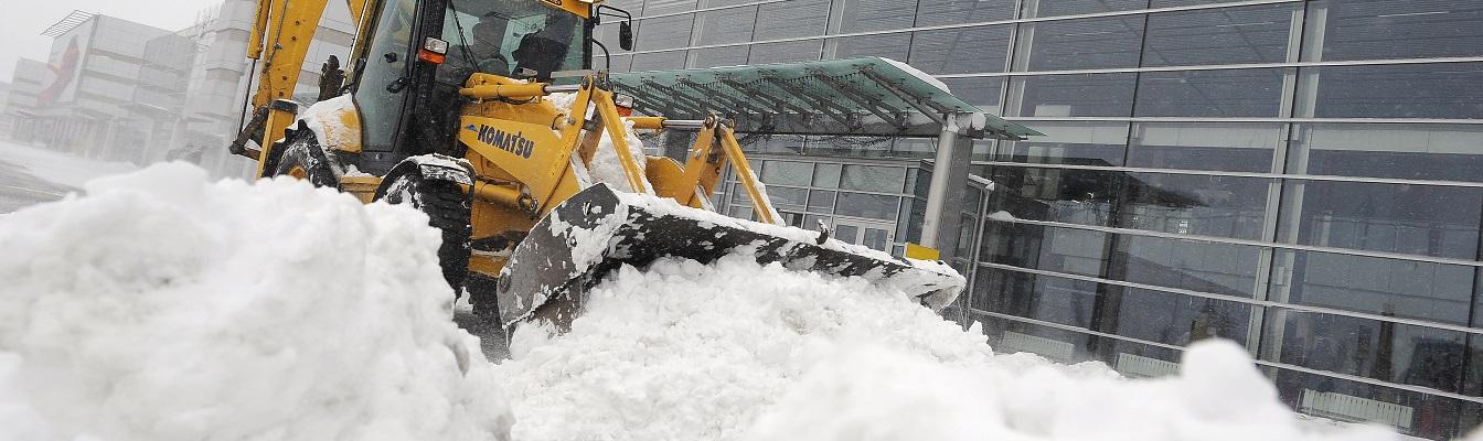 Уборка территории от снега