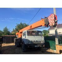 Автокран КАМАЗ Ивановец 25 тонн