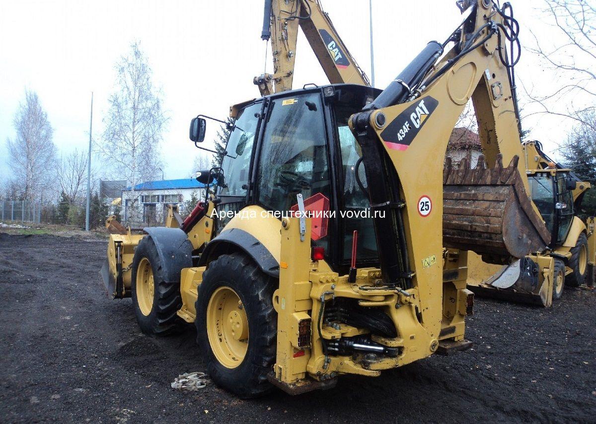 4cf133ff1 Аренда экскаватора погрузчика Caterpillar 434 с ковшом 80 см в Москве и  области недорого
