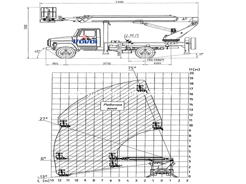Схема ЗИЛ АГП-18.04