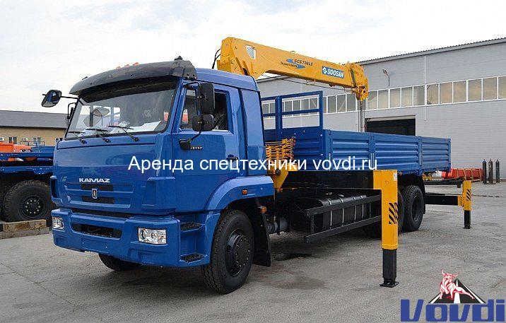 Манипулятор КАМАЗ 6 тонн