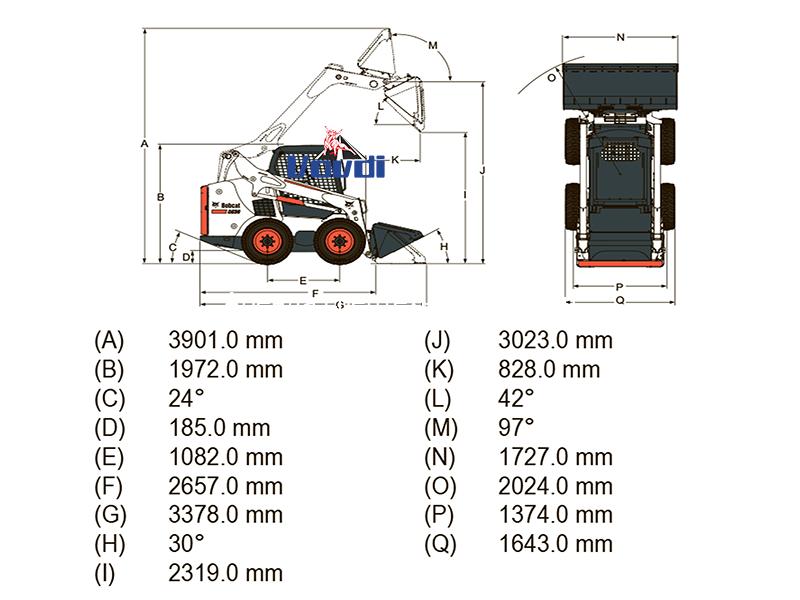 Схема Bobcat S530