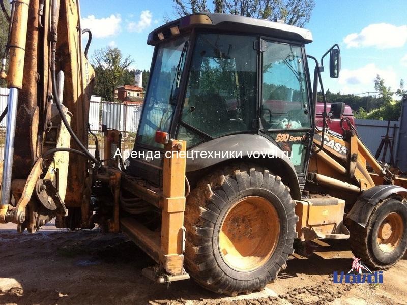 Трактор экскаватор CASE 580 Super R