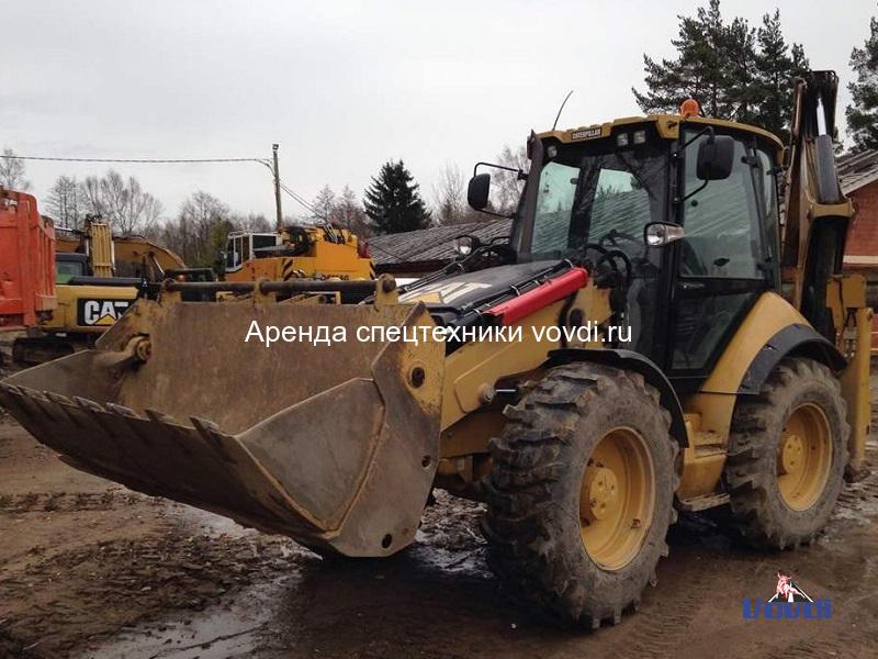 Трактор экскаватор Caterpillar 434