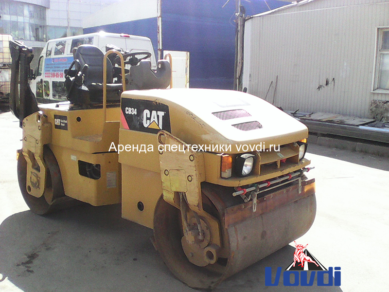 Мини каток Caterpillar CB34 3.8
