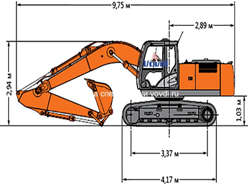 Схема Hitachi ZX 200-3