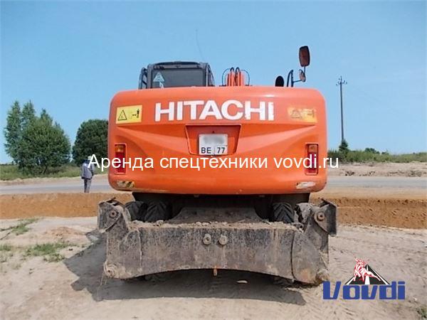 Экскаватор Hitachi ZX 170 W-3