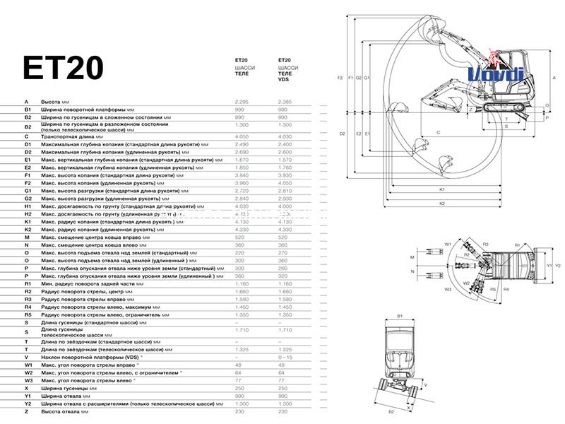 Схема Wacker Neuson ET24