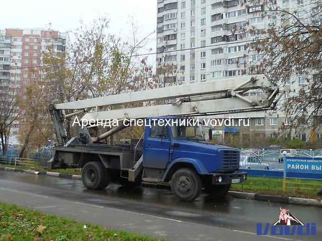 Автовышка ЗИЛ АГП 22.04