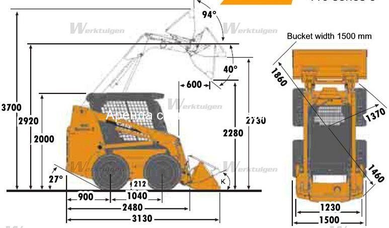Схема Case 430
