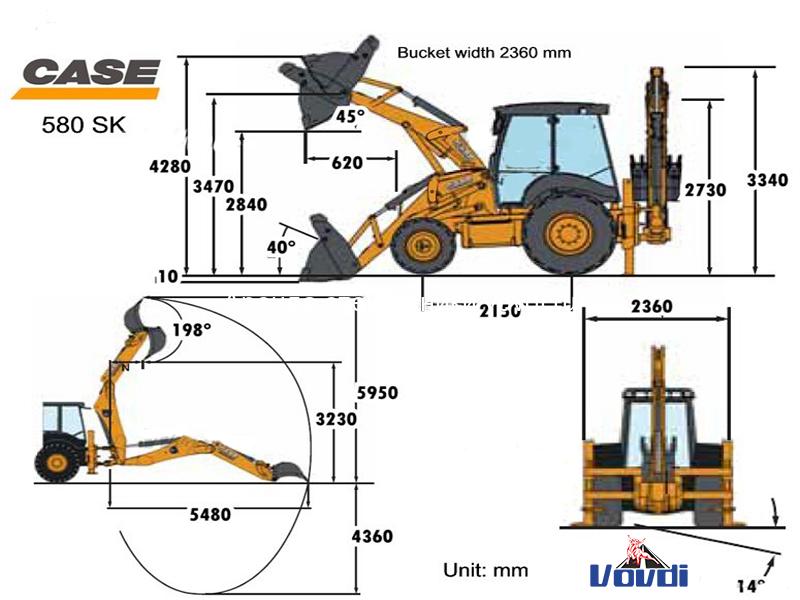 Схема CASE 580 Super R