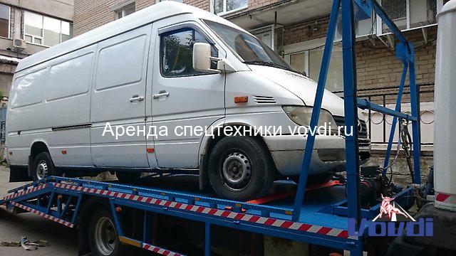 Эвакуатор с водителем Mercedes-Benz 5 тонн