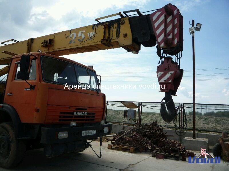 Кран Галичанин 25 тонн