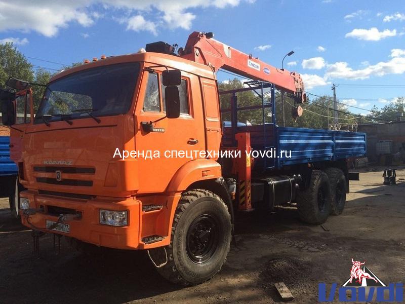 Манипулятор КАМАЗ 7 тонн