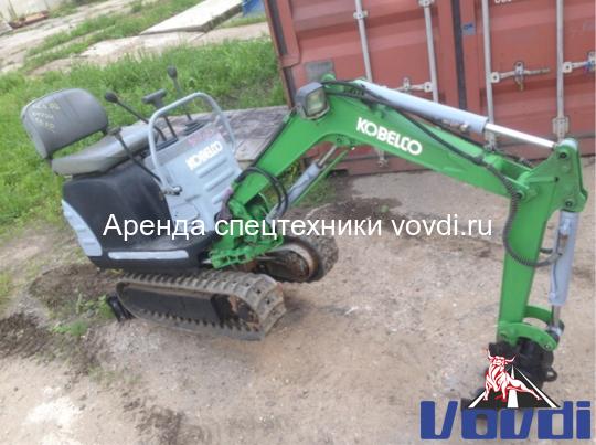 Мини экскаватор Kobelko SK 005