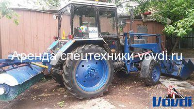 Трактор МТЗ Беларус с ковшом
