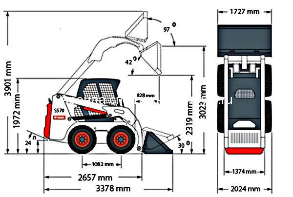 Схема Bobcat S160