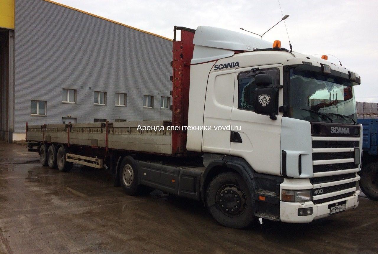 Длинномер Scania G400