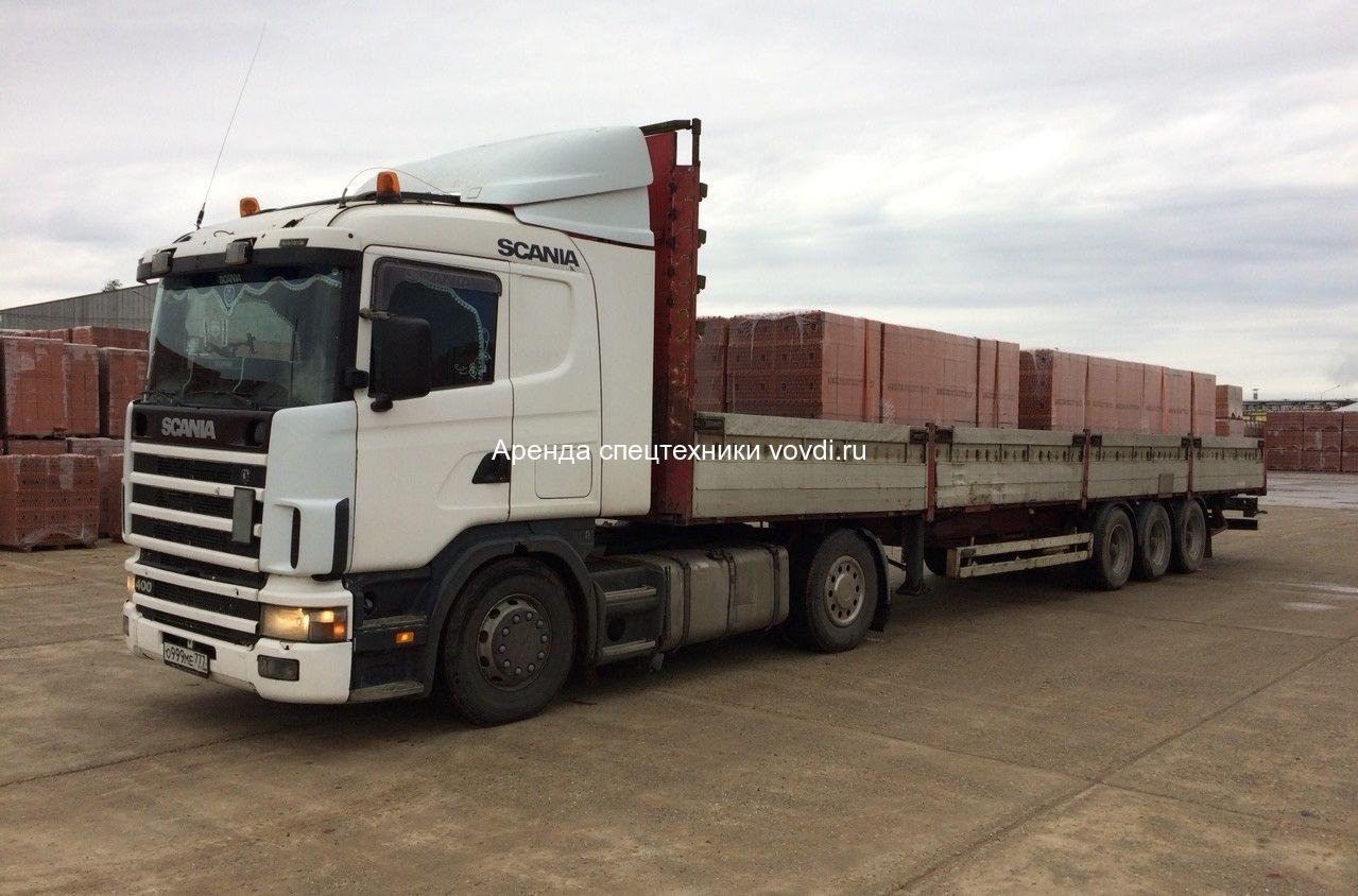 Длинномер для спецтехники Scania G400