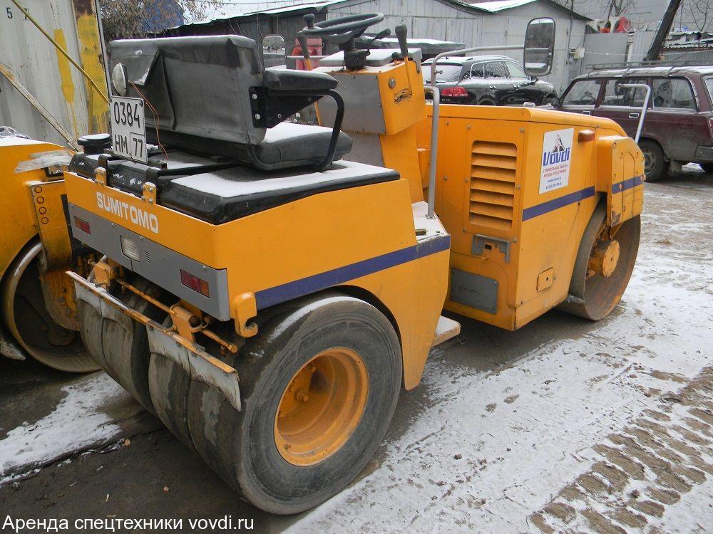 Мини каток Sumitomo HW41VW 4 тонны