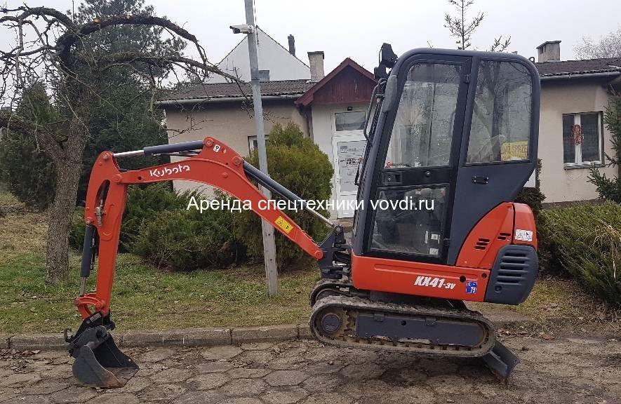 Kubota KX 41-3 v