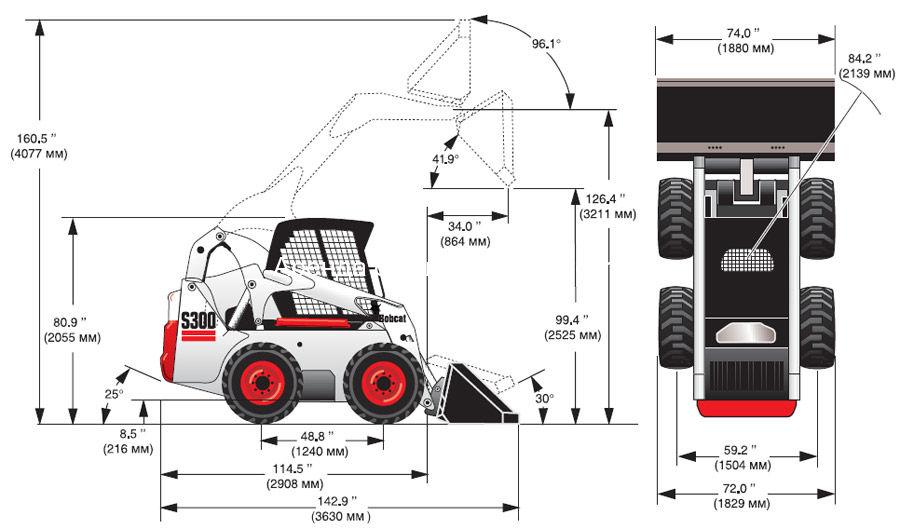Bobcat S300 схема
