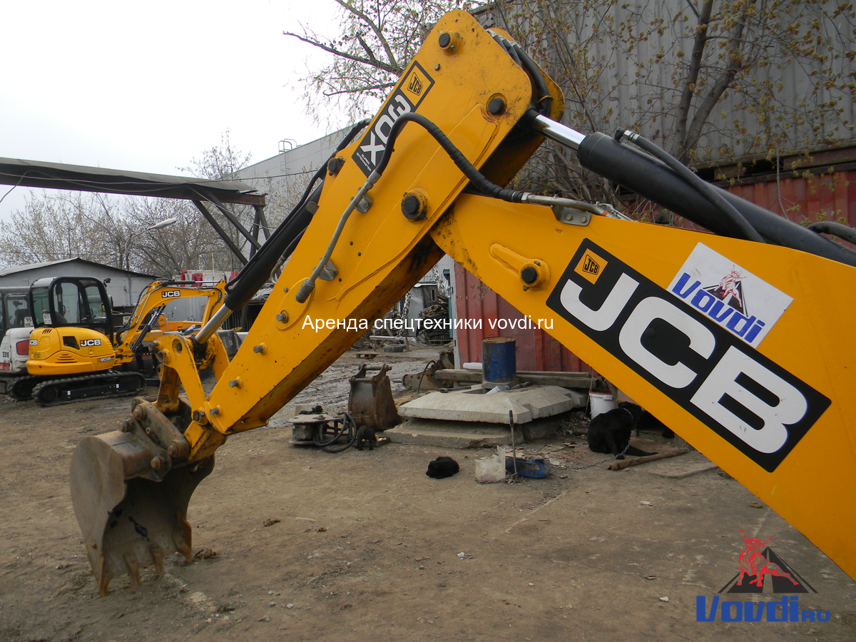 Трактор экскаватор  JCB 3CX Super с ковшом 60 см