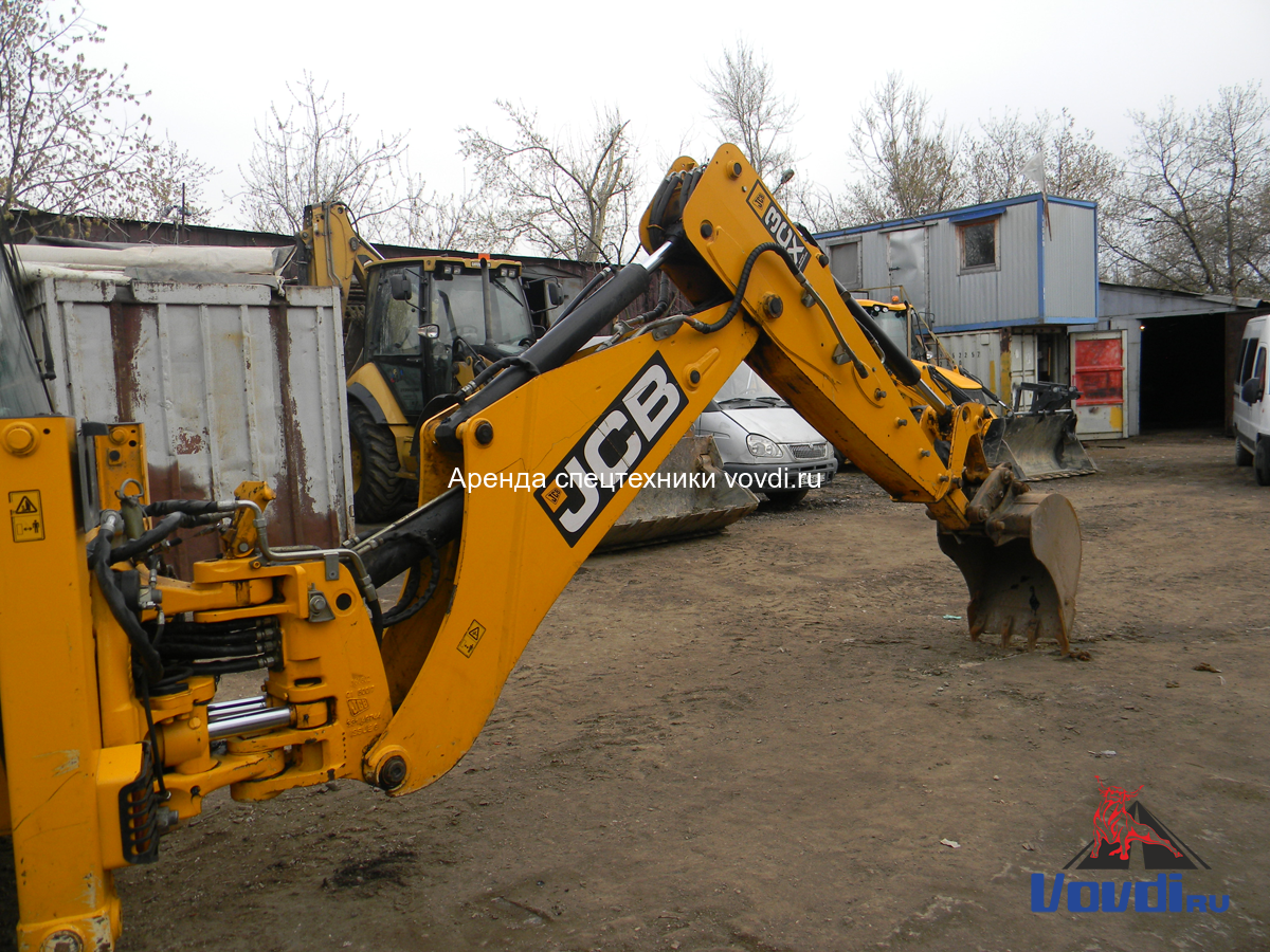 JCB 3CX Super с ковшом 60 см