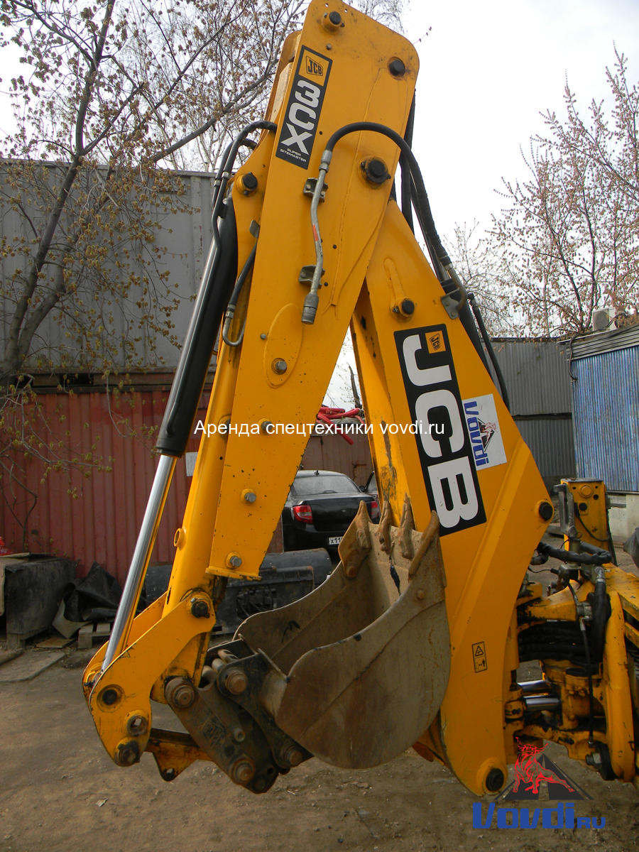 Экскаватор-погрузчик JCB 3CX Super с ковшом 60 см