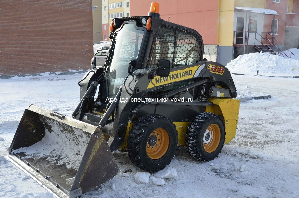 Мини погрузчик New Holland L218