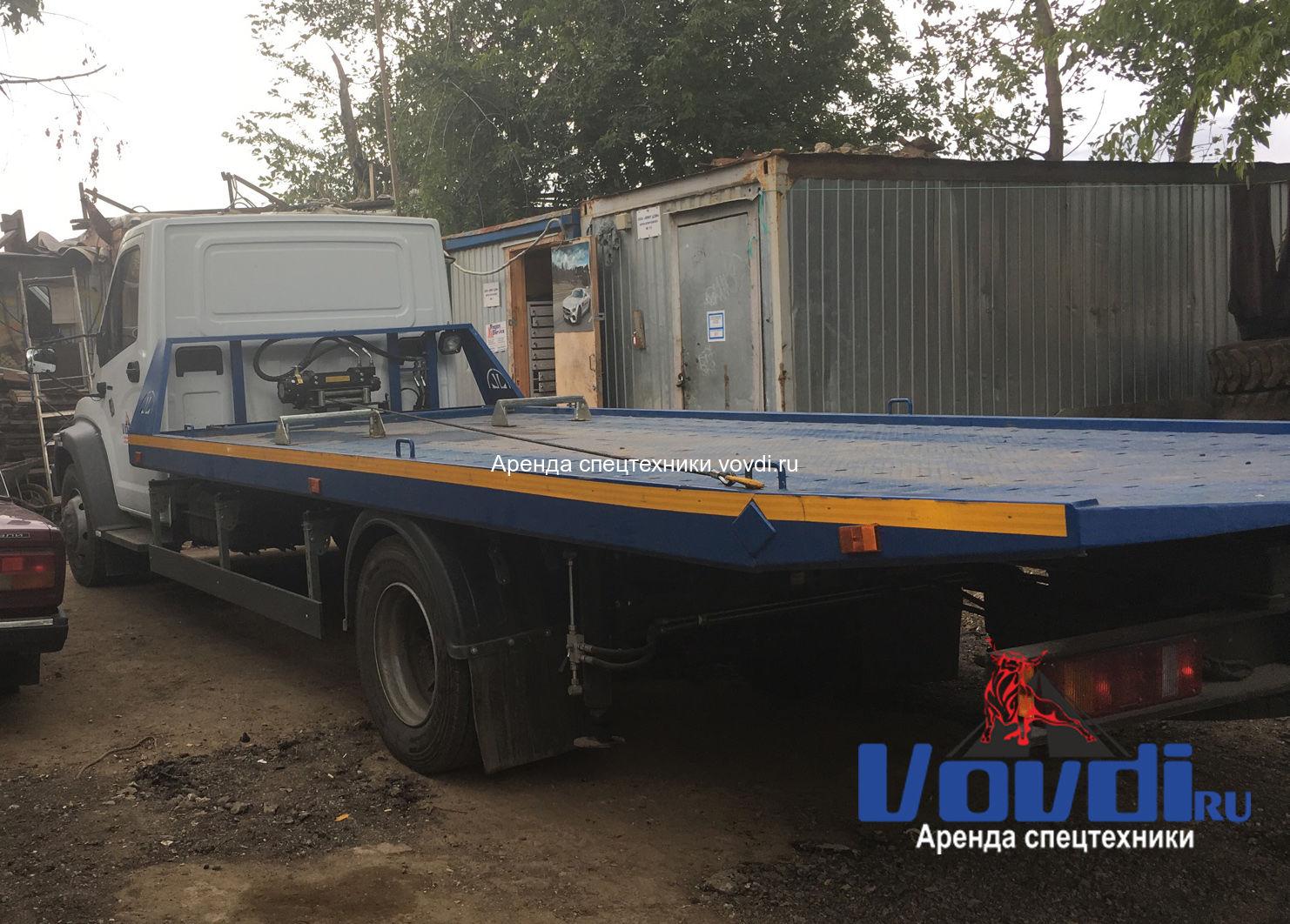 Эвакуатор Газон Некст до 5.2 тонн со сбвижной платформой
